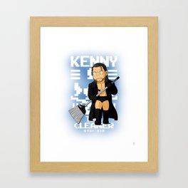 Kenny Omega Framed Art Print