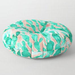 Paddle Cactus Blush Floor Pillow