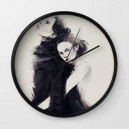 Dark Reylo Wall Clock