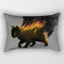 This Cat Is On Fire! Rectangular Pillow