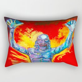 Creature From The Black Lagoon  Rectangular Pillow