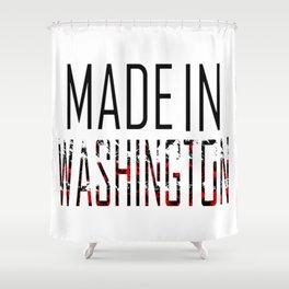 Made In Washington Shower Curtain
