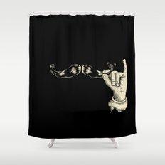 Muahahaha! Shower Curtain