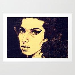 Oh Amy  Art Print