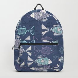 Here, Fishy Fishy Backpack