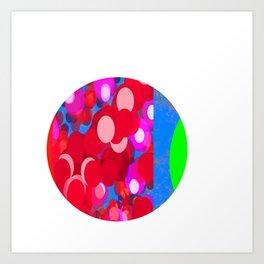 SexyPlexi dots 83 Art Print