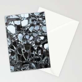 Dark Mirror and Glass Stationery Cards