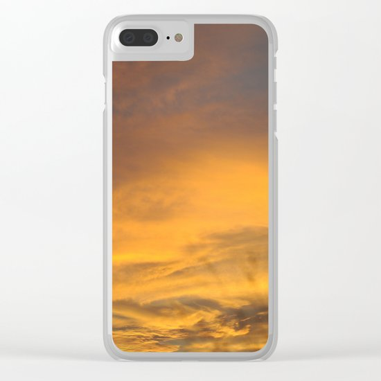 COME AWAY WITH ME - Autumn Sunset #2 #art #society6 Clear iPhone Case
