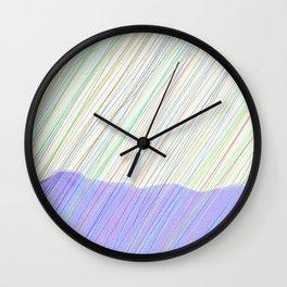 Sleet Hills Wall Clock