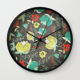 Punk Rock Garden Wall Clock