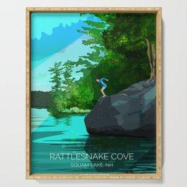Rattlesnake Cove Serving Tray