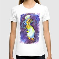 aladdin T-shirts featuring Aladdin by Mottinthepot