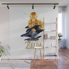 Zelda Breath of the Wild - The Silent Princess Wall Mural