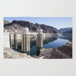 Hoover Dam Reflections Rug