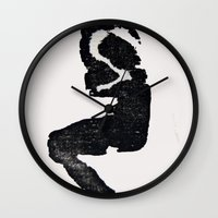 joker Wall Clocks featuring Joker by Ryan Prylinski