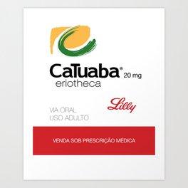 Kitchen Posters - Cialis/Catuaba Art Print