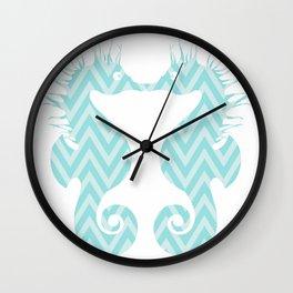 Kissing Fish Wall Clock