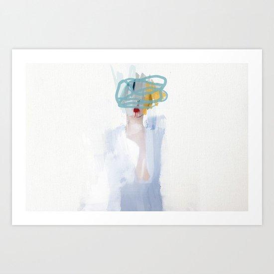 Heads 3 Art Print
