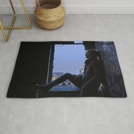 Elle se termine toujours comme ça // It always ends like this Rug