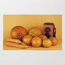 Orange carrots - still life Rug