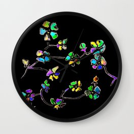 Apple Blossoms Wall Clock