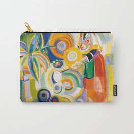 """Robert Delaunay """"Tall Portuguese Woman"""" Carry-All Pouch"""