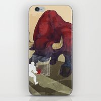 courage iPhone & iPod Skins featuring Courage by GlendaTse