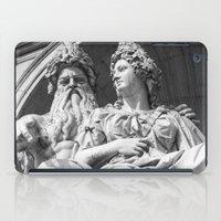 vienna iPad Cases featuring Vienna statue by Veronika