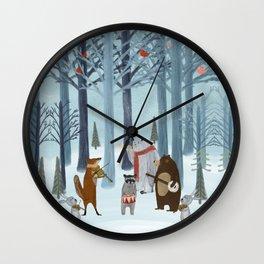 nature symphony Wall Clock