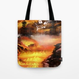 Heaven and Hell Tote Bag