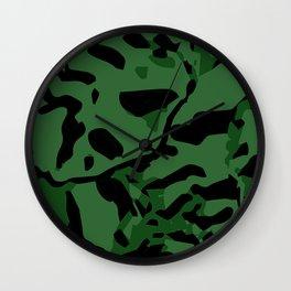 GREEN TRIDANCA Wall Clock