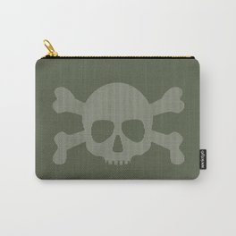 skull stripes Carry-All Pouch