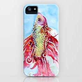 Fish Swim iPhone Case