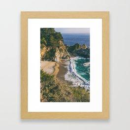 Mcway Falls II Framed Art Print