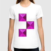 abyss T-shirts featuring Purple Abyss by Peter Gross