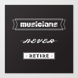musicians Canvas Print