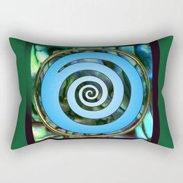 Paua Koru 2 Rectangular Pillow