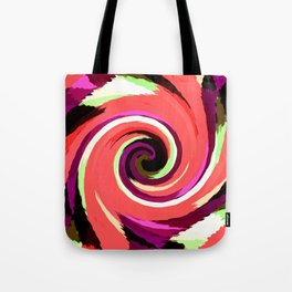 Painted Wind Whirl Tote Bag