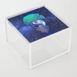 Tree of Life Yin Yang Earth Space Acrylic Box