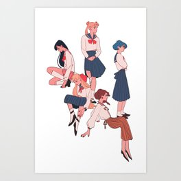 sailors Art Print