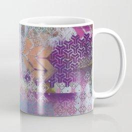 Pink and salmon arrows Coffee Mug