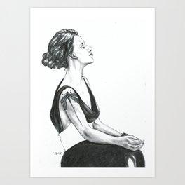The Dragon Tattoo Art Print