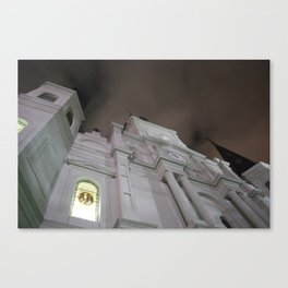 Cathedral at Midnight Canvas Print