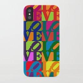 Love Pop Art iPhone Case