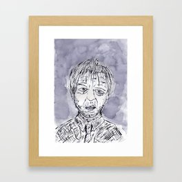 Dr. Jekyll and Mr. Hyde Transformation part IV Framed Art Print