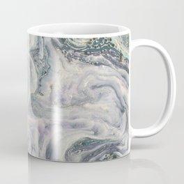 Marbled Metallic paper Coffee Mug