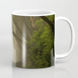 Mysterious alley at dawn Coffee Mug