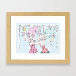 baroc fight Framed Art Print