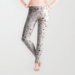 Terrazzo pink Leggings
