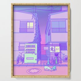 Pastel Tokyo Cats Serving Tray